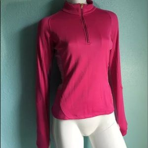 NIKE Sphere Dry Zip Up Front Pull Over